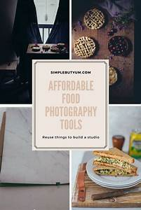 Budget Friendly Food Photography Tools - Reuse Things You Have to Build the Studio | Food ...