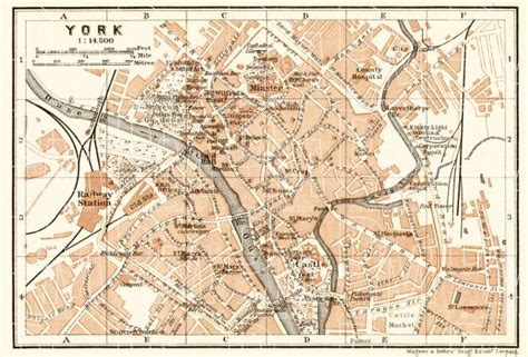 map  york   buy vintage map replica poster