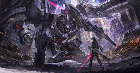 robot scifi anime war p resolution hd
