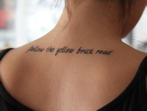 yellow brick road yellow brick road tattoo quotes