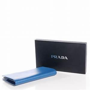 prada saffiano calf leather document holder cobalto blue 74670 With prada saffiano leather document holder