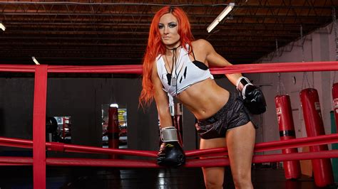 Wallpaper Sports Redhead Model Dyed Hair Red Wwe