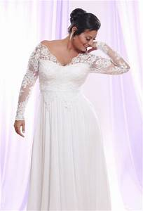 wedding dresses with sleeves for plus size wedding hub With wedding dresses with sleeves plus size