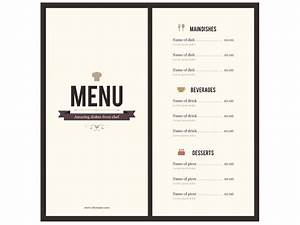 8 menu templates excel pdf formats With menue templates