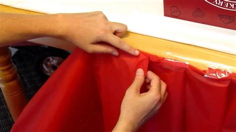how to make a tablecloth for a rectangular table diy inexpensive ruffle table cloth for radio flyer