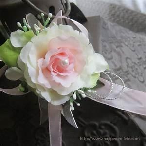 Fleurs Pour Mariage : bracelet souple avec fleurs pour mariage ~ Dode.kayakingforconservation.com Idées de Décoration