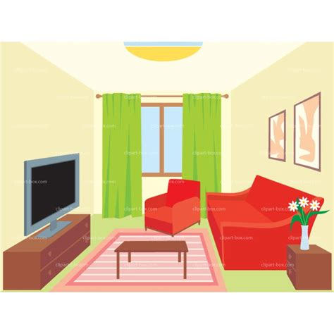 Living Room Clipart by Sleeping Room Clipart Clipground