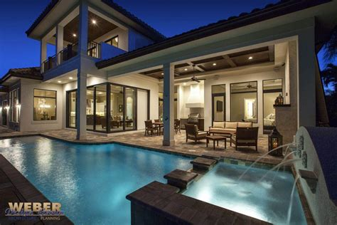 west indies waterfront home design marco island fl weber design group