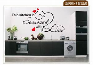 6030cm free shipping wholesale vinyl pvc stencils wall With kitchen cabinets lowes with buy stickers in bulk
