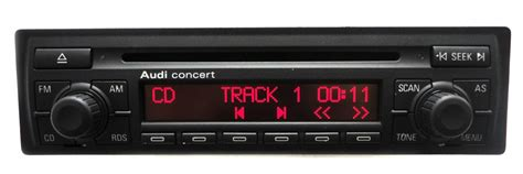 98 99 2000 New Audi Concert Ii Cd Player Radio Stereo S4
