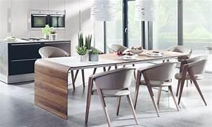 Esstisch Stühle Design : esstisch holz design ausziehbar ~ Frokenaadalensverden.com Haus und Dekorationen