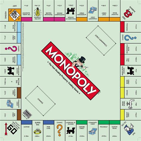 monopoly board 301 moved permanently