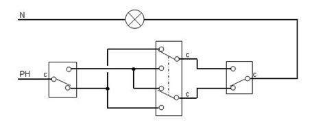 va et vient 3 interrupteurs 2 les enigme probl 232 me d electricien va et vient 224 trois interrupteurs prise2tete