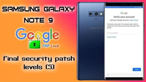 frp  samsung note  bypass google account  security