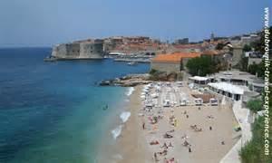 Wide Beach Chairs by Dubrovnik Banje Beach