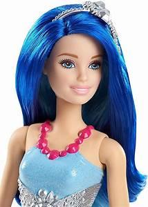 Buy Barbie Dreamtopia Blue Hair Mermaid Doll only £9.99 at ...  Barbie