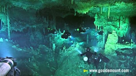 First ever cave diving flash mob - YouTube
