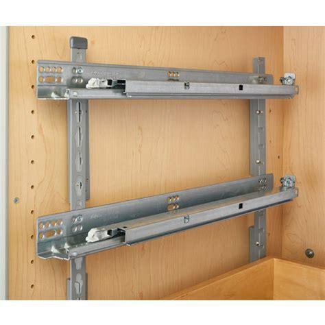 Kitchen Storage, Base Cabinet Pullout Adjustable Shelf