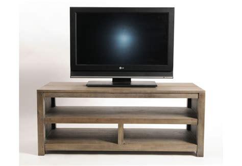 bureau en teck meuble tv bas bois pas cher