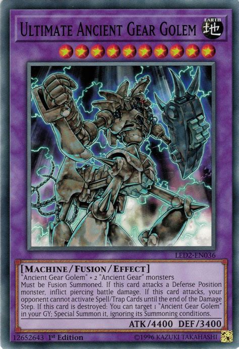 Ultimate Ancient Gear Golem Yu Gi Oh Fandom Powered