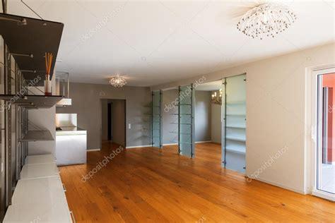 Interni Con Parquet Interno Di Appartamento Con Pavimenti In Parquet Foto