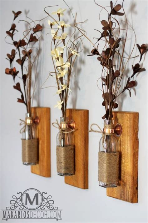 rustic country decor 19 rustic diy and handcrafted accents for a warm home decor Diy