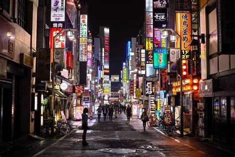 shinjuku  night wallpapers top  shinjuku  night