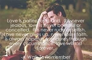 A walk to Remember: True definition of love… | Riya11