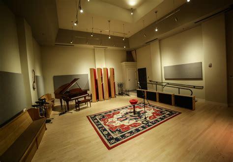 Take a virtual tour of the eTown Recording Studio