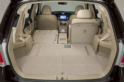 toyota highlander interior dimensions 2012 toyota higlander review specs pictures price mpg