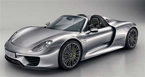 porsche electric 918 electric cars report porsche 918 spyder unveiled in