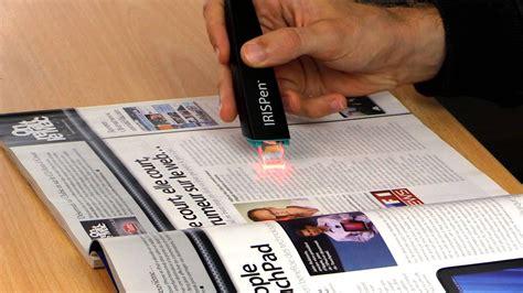 iris testo irispen executive 7 scanner a penna con riconoscimento