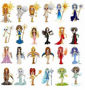 Greek Goddesses Picture, Greek Goddesses Image