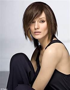 Carré Plongeant Avec Meche : coiffure carr plongeant avec m che femme cheveux mi longs sur ~ Louise-bijoux.com Idées de Décoration