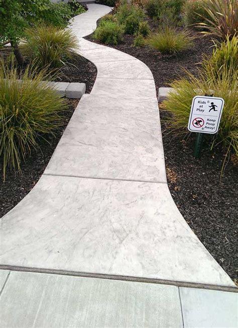 concrete walkways sted concrete walkways sted concrete installation livermore pleasanton ca