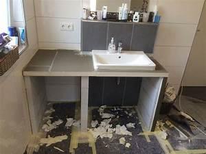 Waschbecken Arbeitsplatte Bad : waschtisch selber bauen deutsche dekor 2018 online kaufen ~ Markanthonyermac.com Haus und Dekorationen