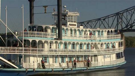 Small Boat Mississippi River Cruises by Riverboat Twilight Overnight Mississippi River Cruise