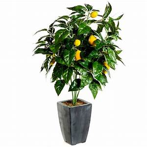 Arbre En Pot : abre artificiel citronnier en pot 51 cm de haut ~ Premium-room.com Idées de Décoration
