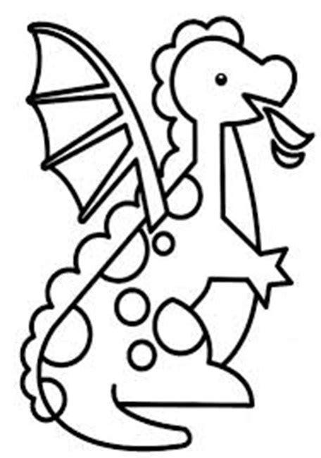 giochi gratis per bambini piccoli da colorare semplice drago da colorare per bambini piccoli disegni