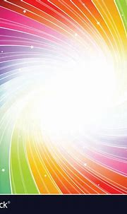 Rainbow spiral background Royalty Free Vector Image