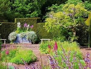 Knightshayes Court Gardens Near Tiverton With Restored