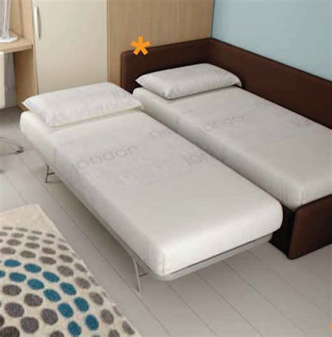 chambre ado avec lit canapé lit gigogne compact