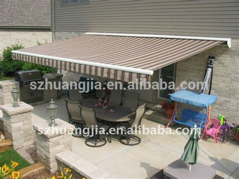 motorized retractable caravan awnings sliding awning