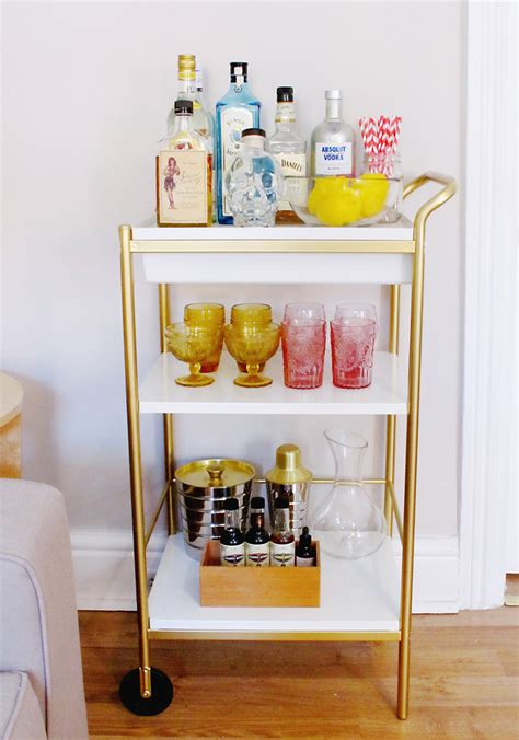 Bar Accessories by Luxury Bar Cart Accessories Homesfeed