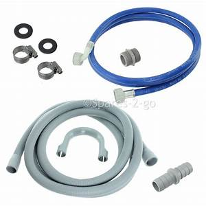 Bosch Dishwasher Fill Water Pipe  U0026 Drain Outlet Hose