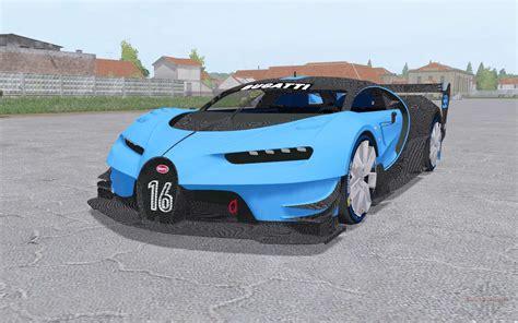 2015 Bugatti Chiron by Bugatti Chiron Vision Gran Turismo 2015 For Farming