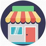 Icon Retailer Marketplace Icons Advertising Editor Open