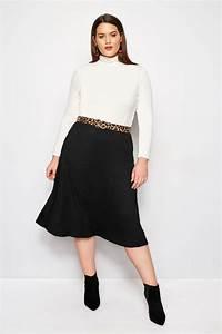 Bon Price Mode : jupe noire midi grande taille 44 64 ~ Eleganceandgraceweddings.com Haus und Dekorationen