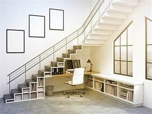 Amenager Sous Escalier : combler l 39 espace vide sous l escalier 30 id es surprenantes ~ Voncanada.com Idées de Décoration