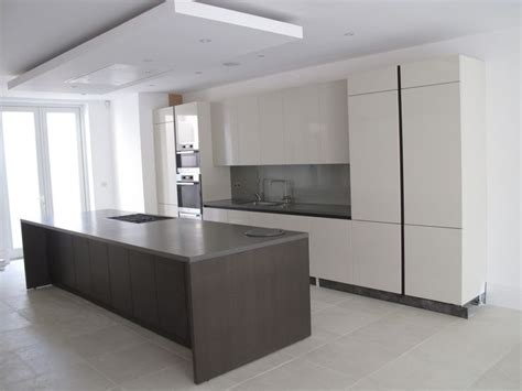 kitchen island extractor suspended ceiling with lights and flat extractor 1909